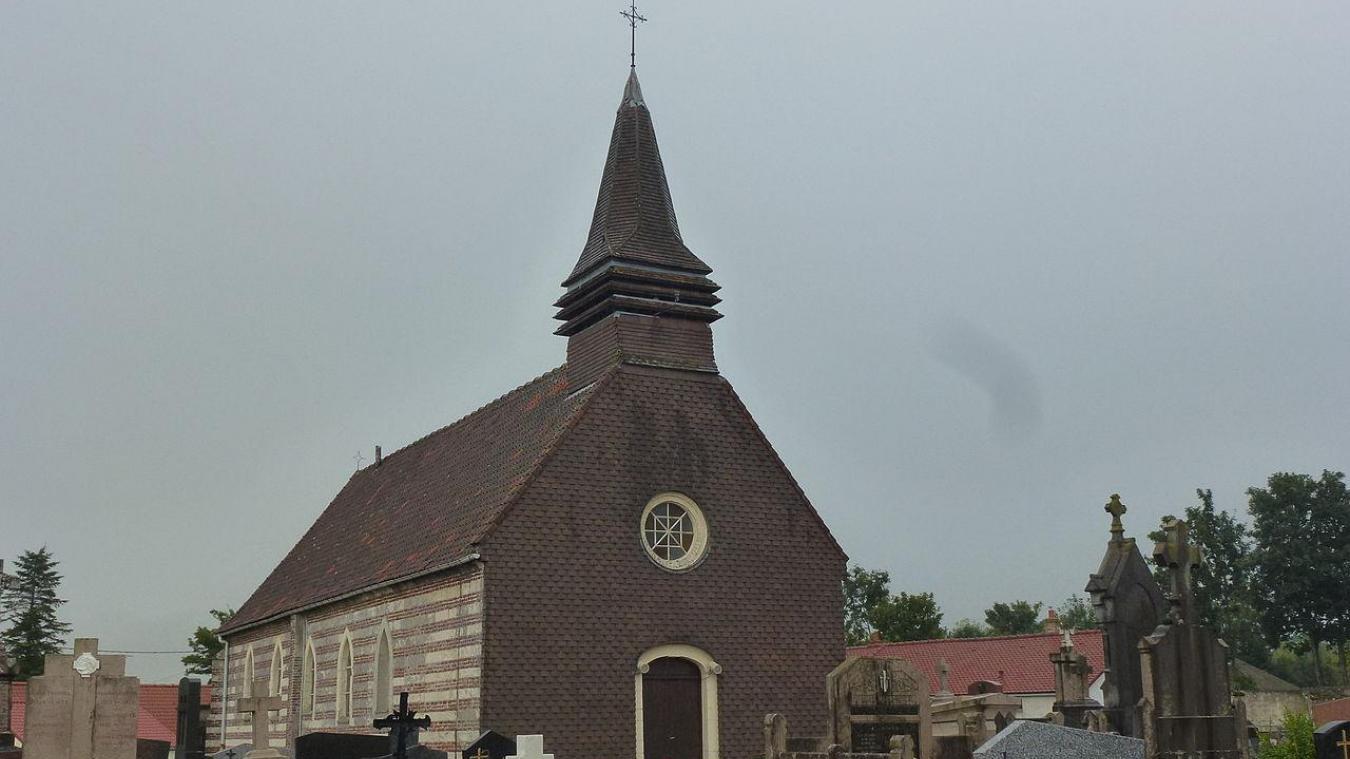 La mésaventure a eu lieu au cimetière d'Andres.