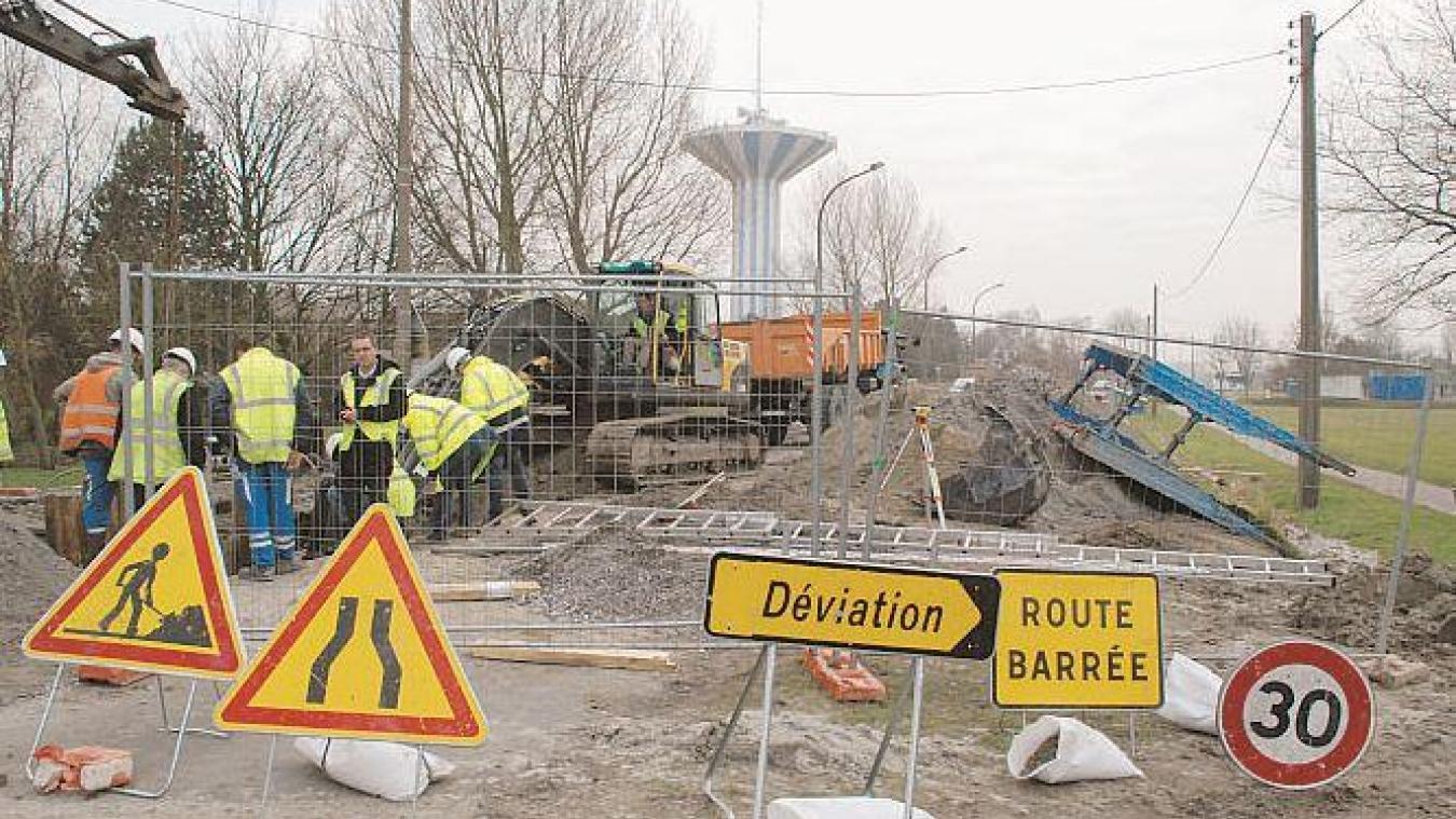 Plusieurs chantiers ont lieu dans les communes de Saint-Pol-sur-Mer et Grande-Synthe (photo d'illustration).