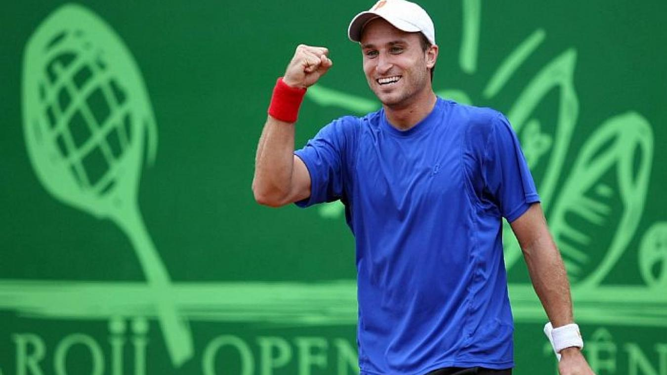 Steven Diez, 136 ème  mondial, a été recruté par le club de tennis de Boulogne-sur-Mer.
