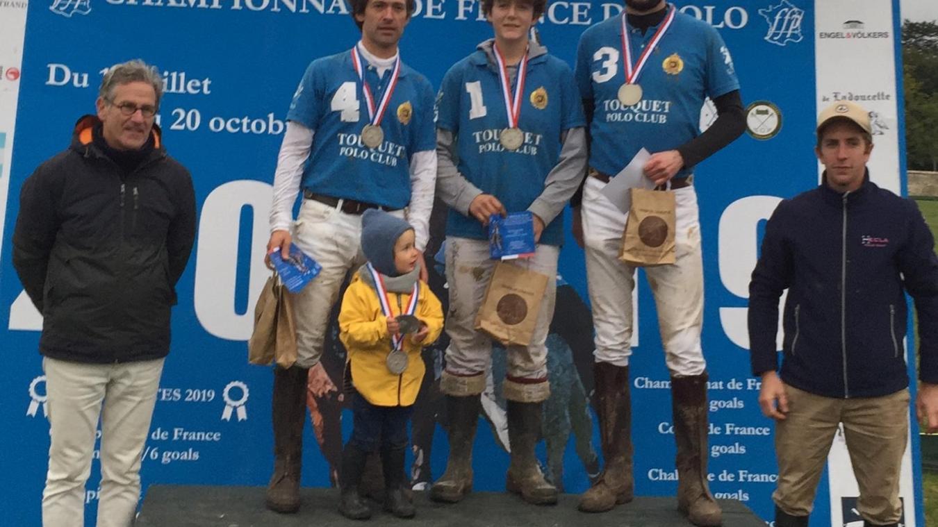 Le Touquet, vice-champion de France - Les Echos du Touquet