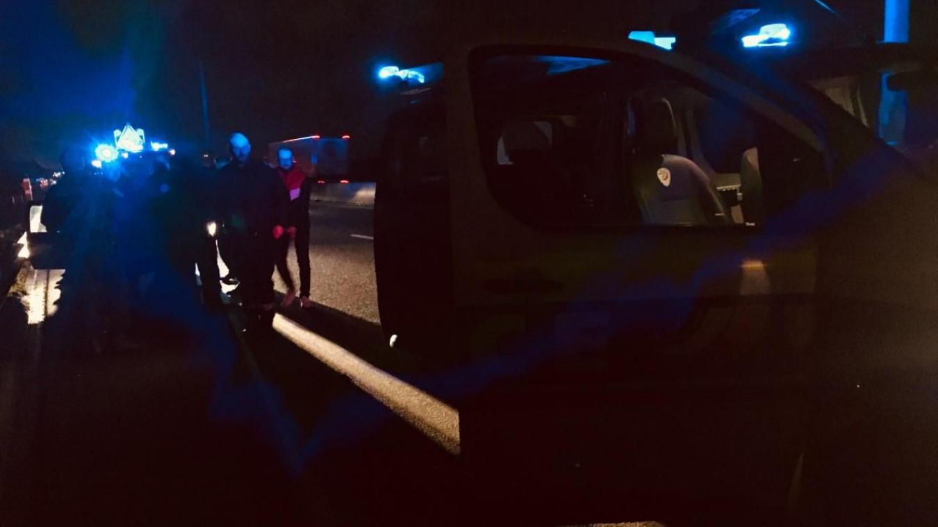 Grande-Synthe : deux voitures se percutent sur l'A16 - Le Phare dunkerquois