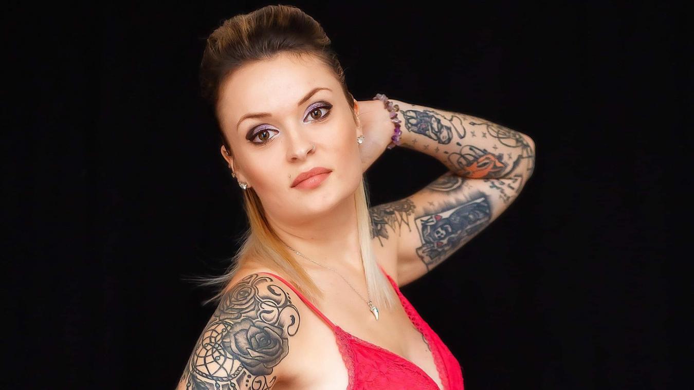 Craywick Marlene Elue Plus Belle Femme Tatouee Des Hauts De France