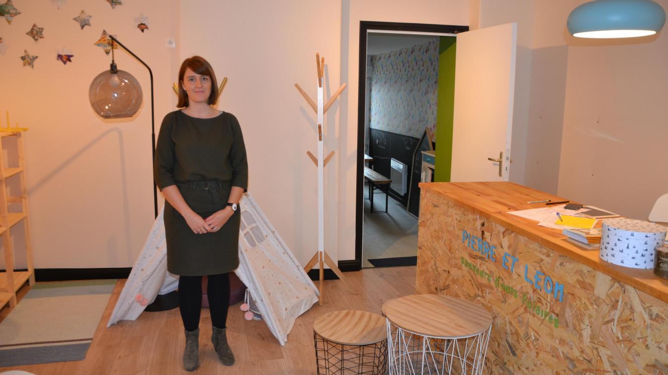Laventie : des jouets écolos dans la hotte avec Pauline Lhermitte