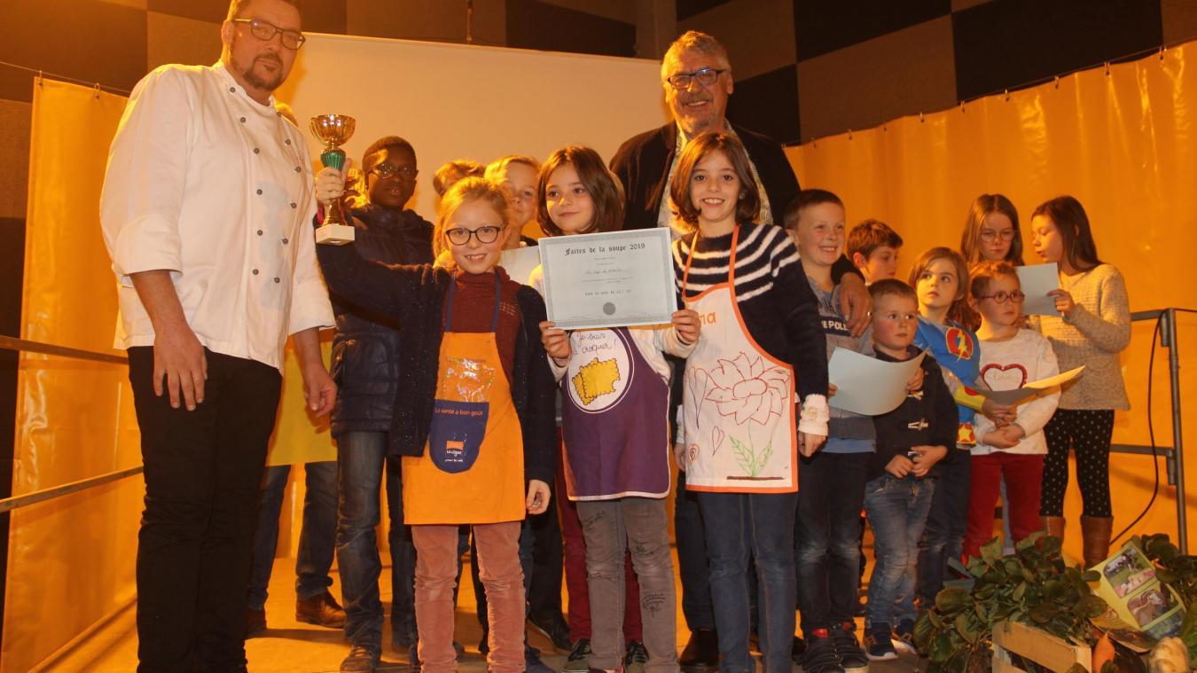 Prix du jury pour la soupe de novembre, du groupe de l'amitié.