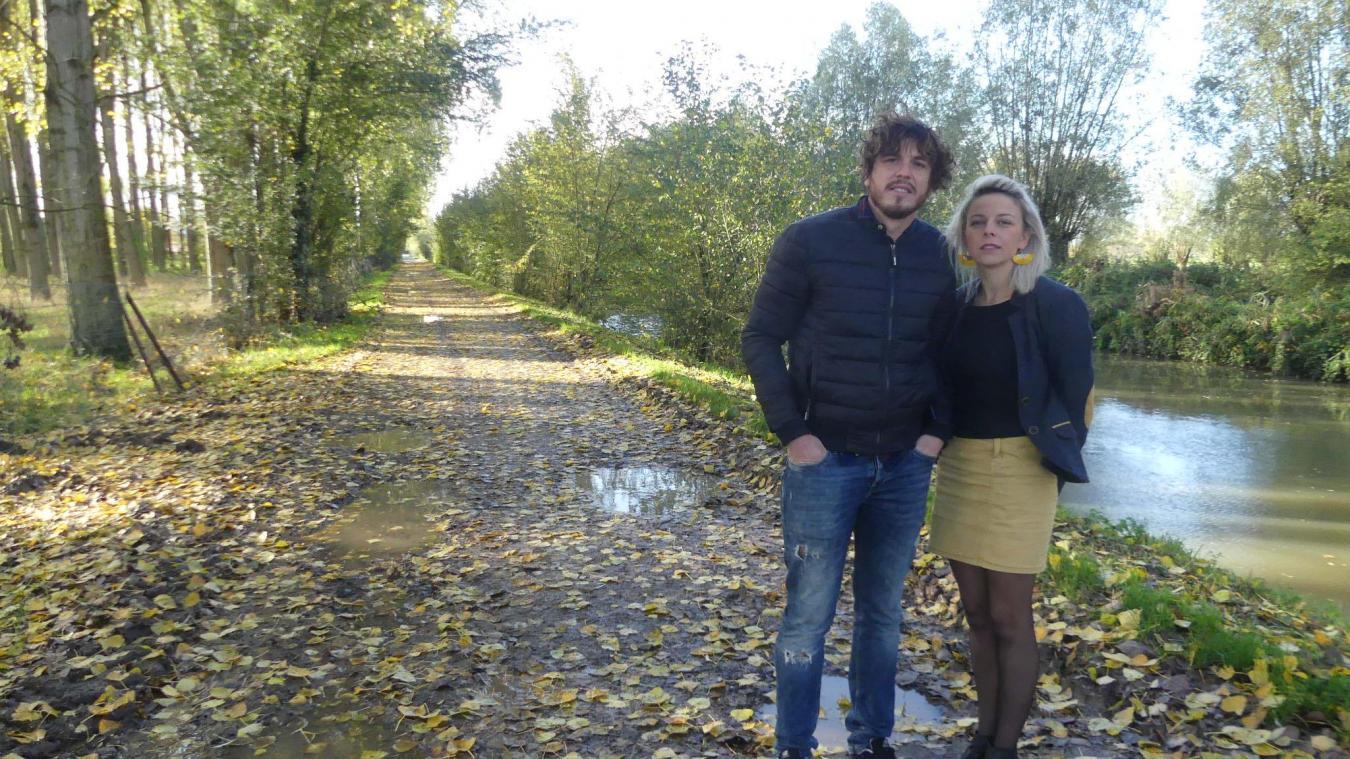 Le couple Zizek se pose des questions sur l'avenir de cette route qu'ils fréquentent régulièrement, comme de nombreux Saint-Venantais et Saint-Florissois.