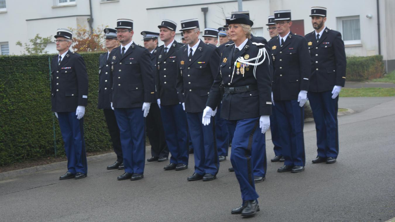 La cérémonie de prise de commandement a eu lieu vendredi à la brigade de Merlimont.
