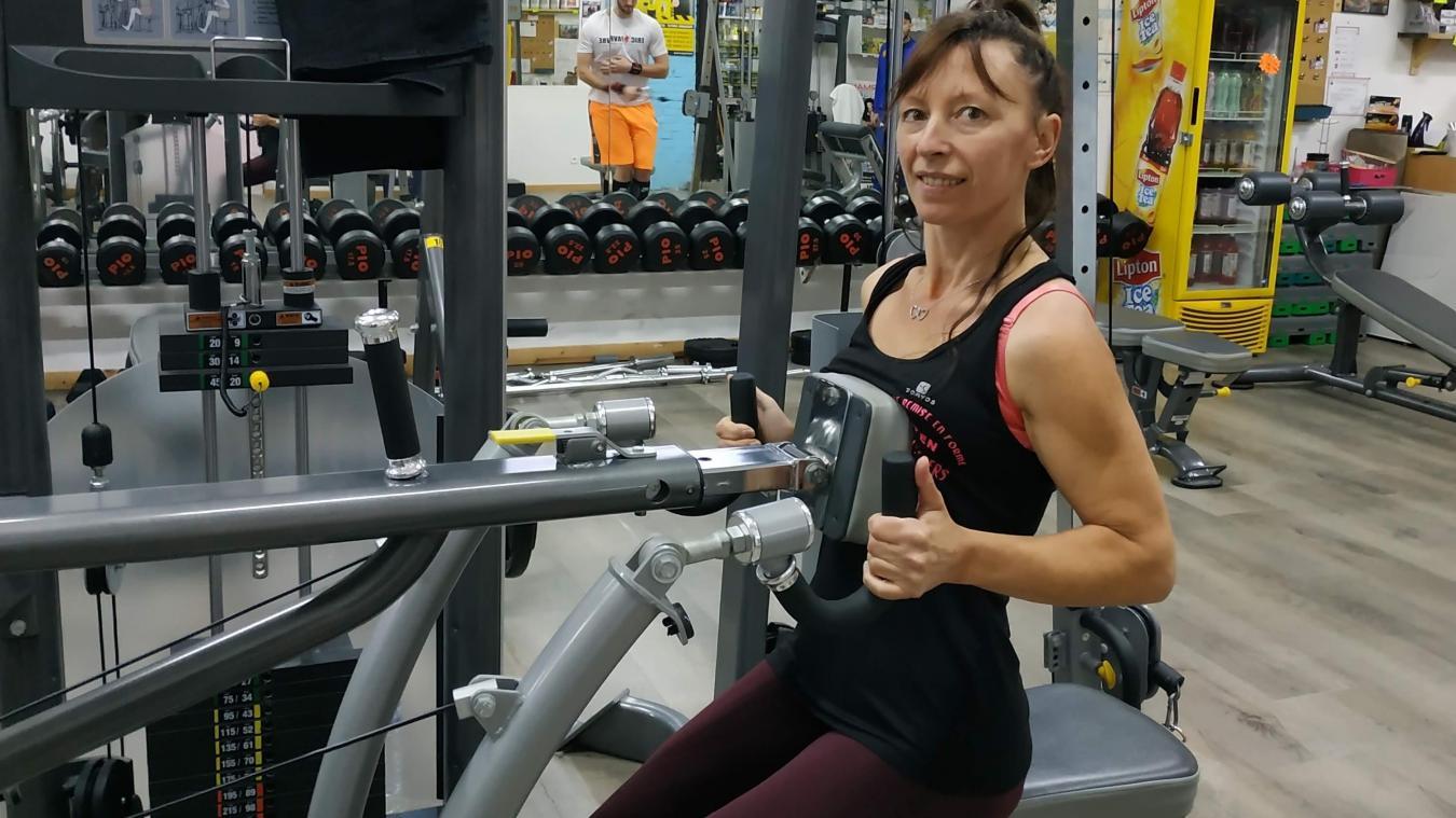 Corinne Regnard vise le titre de Miss Bikini et Fitness.