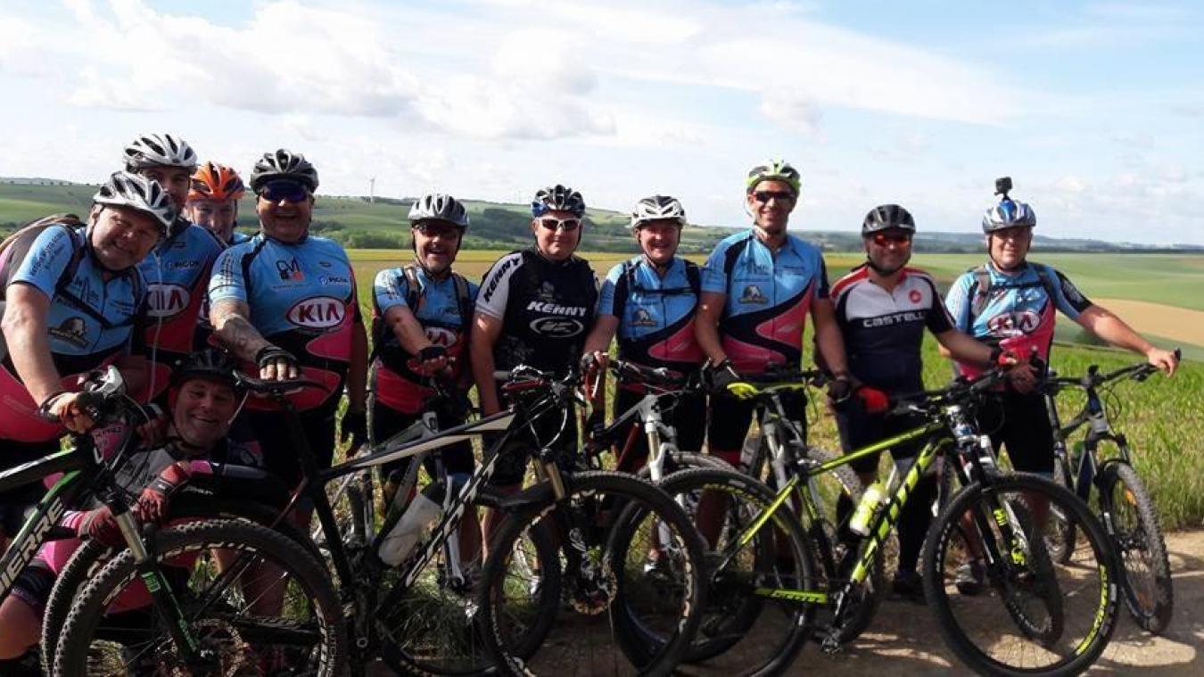 Blendecques VTT, le club organisateur du salon du vélo du 17 novembre.
