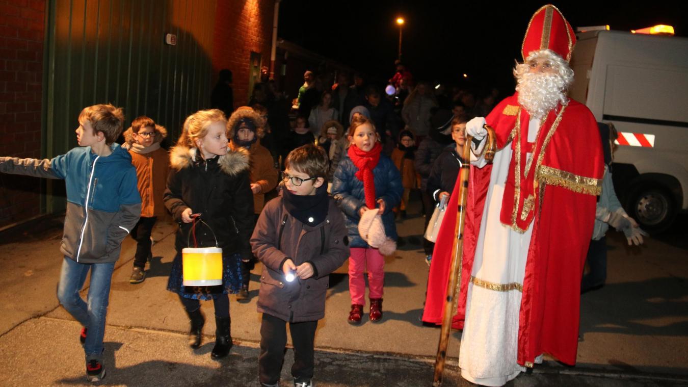 Le Doulieu  : les enfants ont retrouvé l'âne de saint Martin.