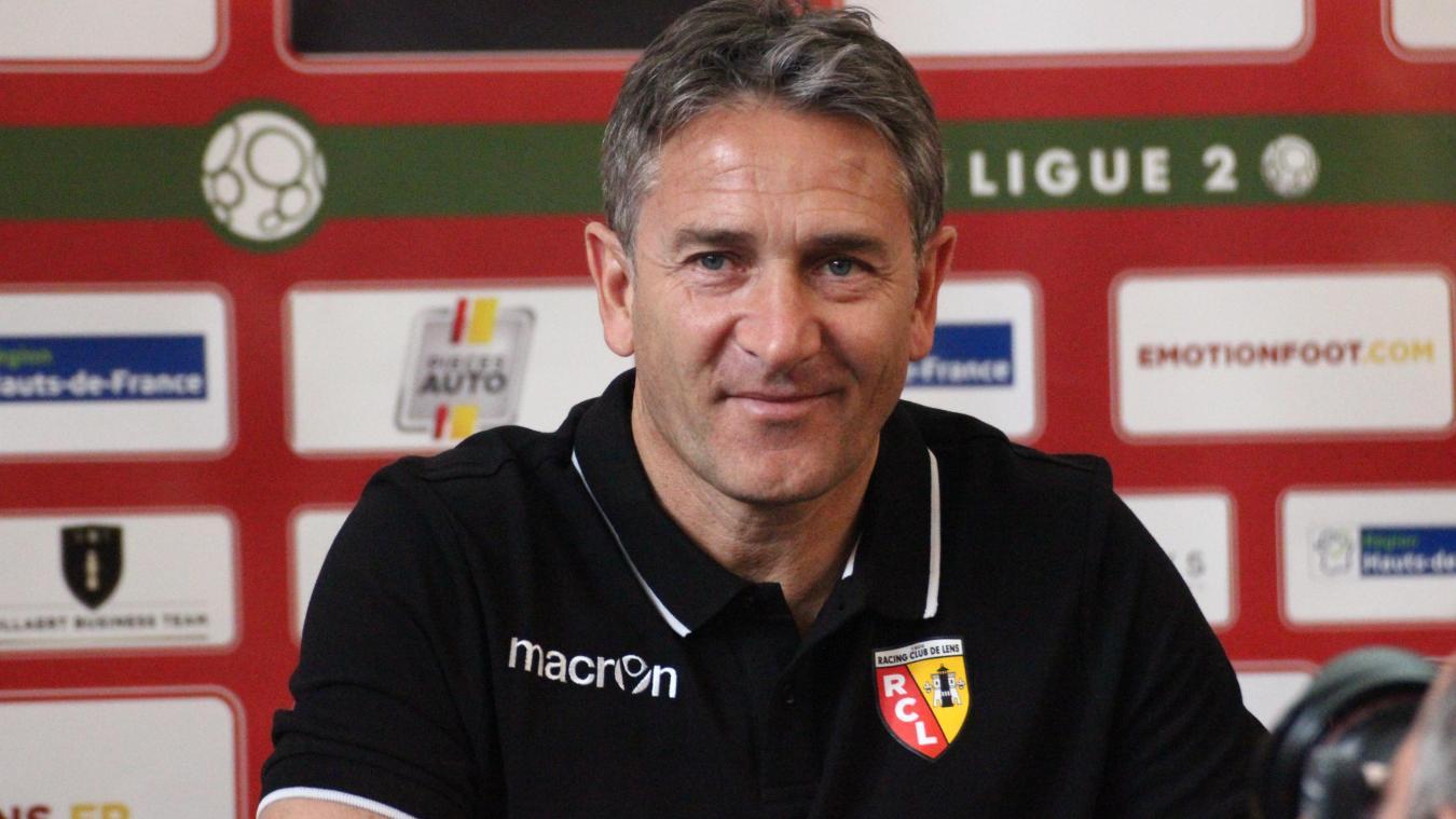 Le RC Lens se sépare de Philippe Montanier