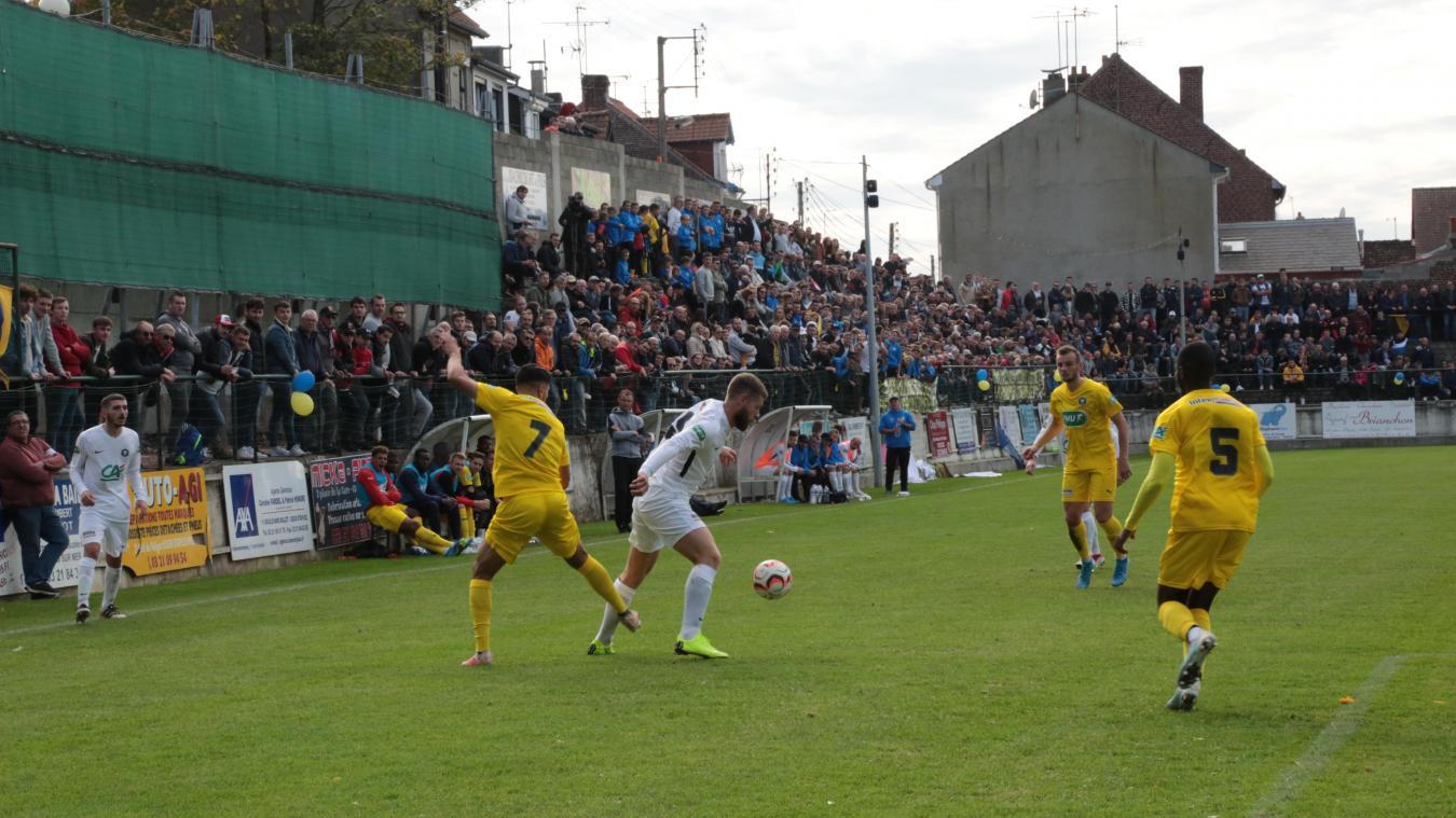 Le stade Guilluy avait accueilli au 6e tour la rencontre Etaples - Boulogne. Dimanche 17 novembre, les gradins devraient être copieusement garnis pour le match de 7e tour de la Coupe de France entre Verton et Le Portel.