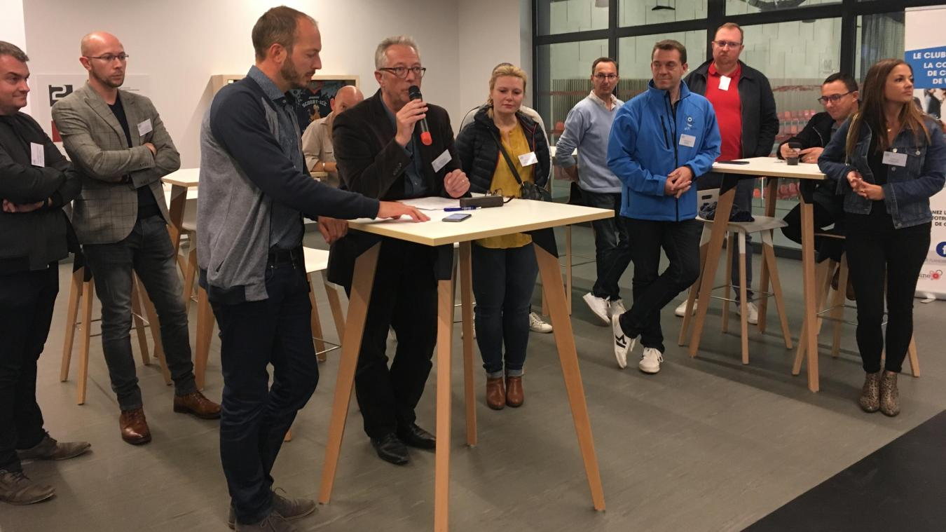 Initiative Flandre, ici lors d'une rencontre du club des entrepreneurs, met l'accent sur l'accompagnement des porteurs de projet.