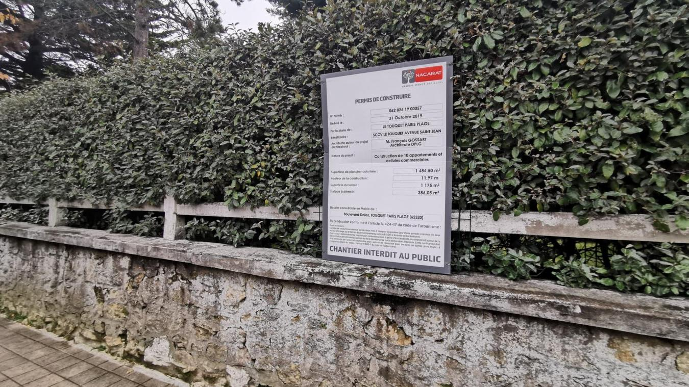 Le Touquet : un programme immobilier et commercial face à la villa des Macron - Les Echos du Touquet