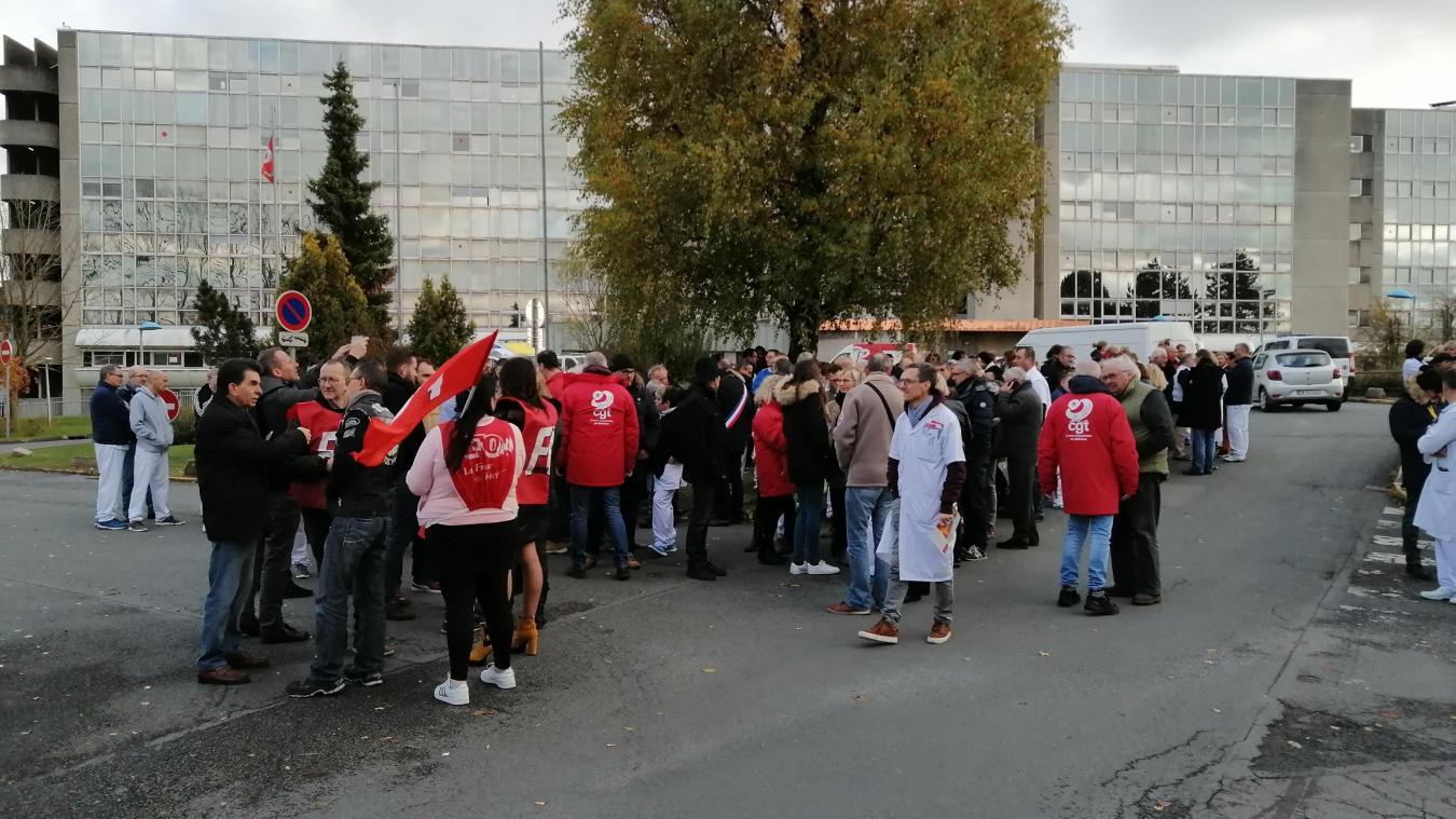 Mobilisation pour obtenir plus de moyens au centre hospitalier Béthune-Beuvry - L'Avenir de l'Artois