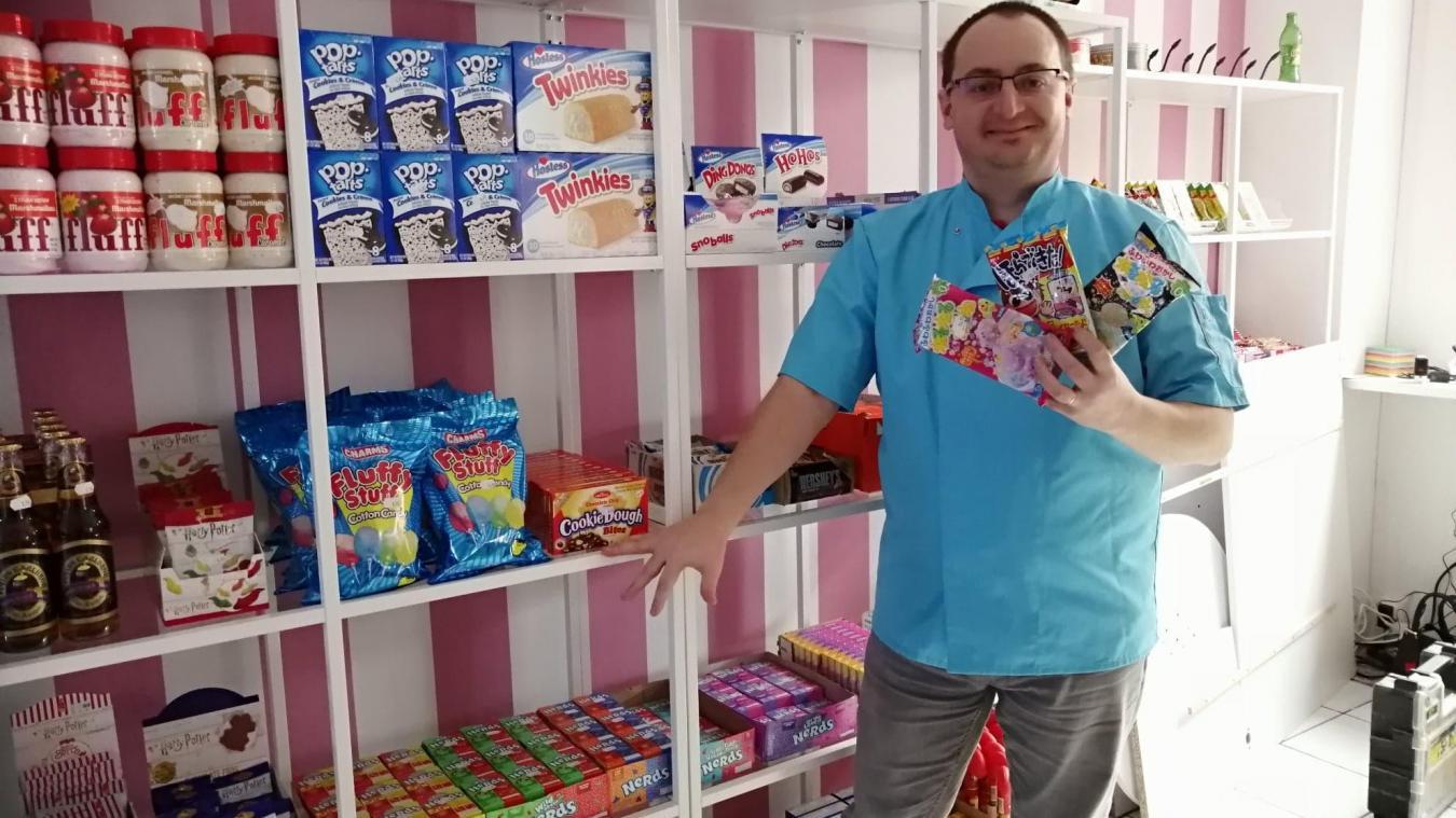 Des bonbons du monde entier en vente à Calais