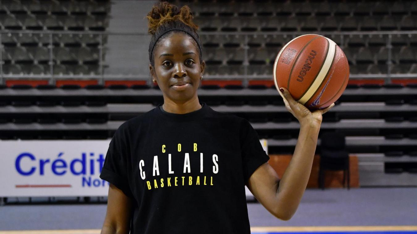 Clarisse Mpaka s'est engagée jusqu'à la fin de la saison.