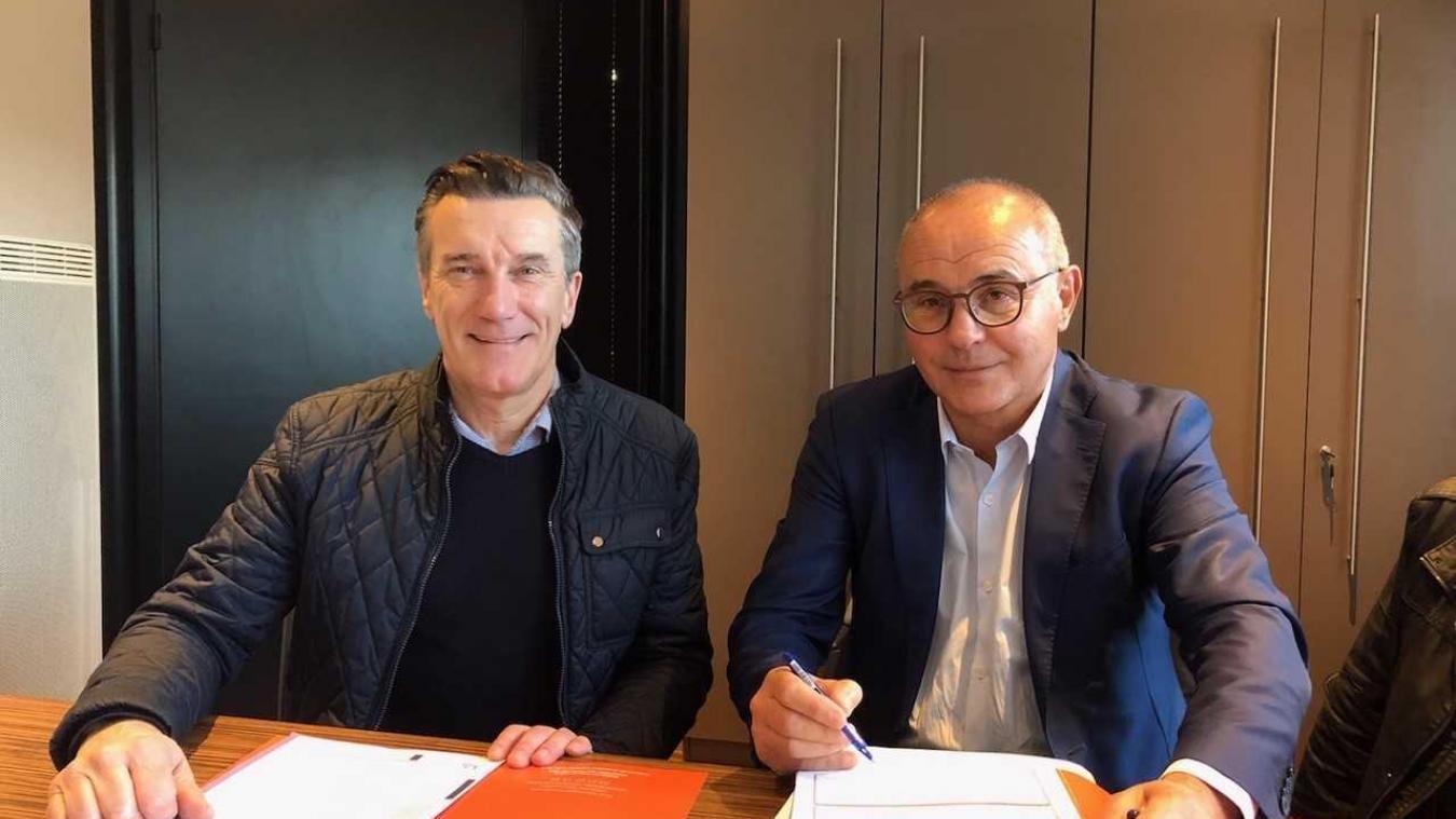 La vente du terrain a été signée entre l'entreprise et la CCFL.