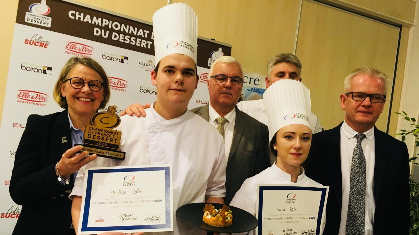 C'est la consécration régionale pour le jeune Étaplois Gauthier Caloin qui se qualifie pour la finale du Championnat de France des desserts.