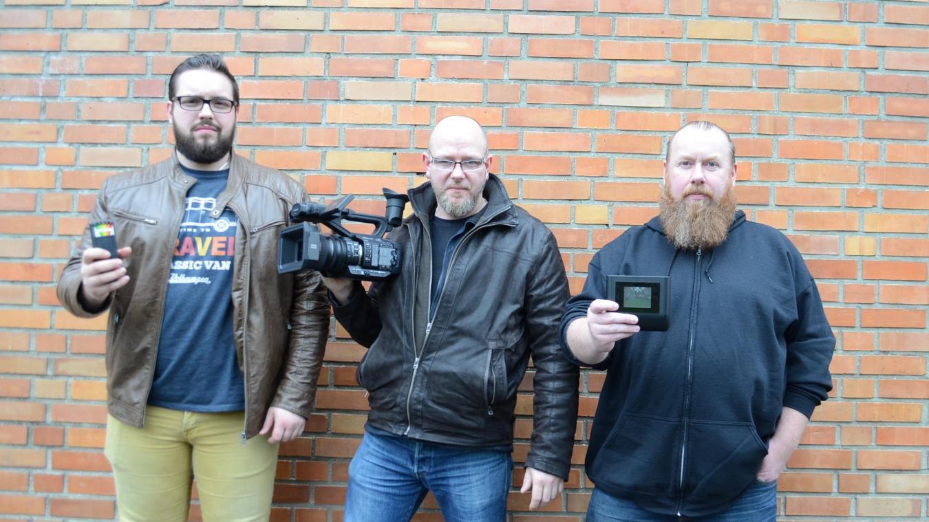 Nicolas Gontrand, Cédric Poret et Rudy Dekeyser ne partent jamais en enquête sans emporter leur matériel high-tech pour tenter de découvrir des phénomènes paranormaux.