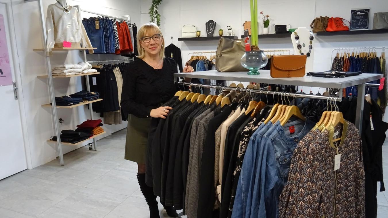 Cathy Tomczak vient d'ouvrir sa boutique de prêt-à-porter et accessoires féminins.