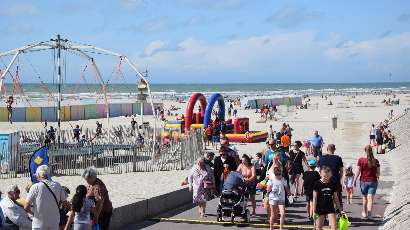 La société Berck Bungy Sensations gère actuellement l'élasto-trampoline sur le sable berckois.