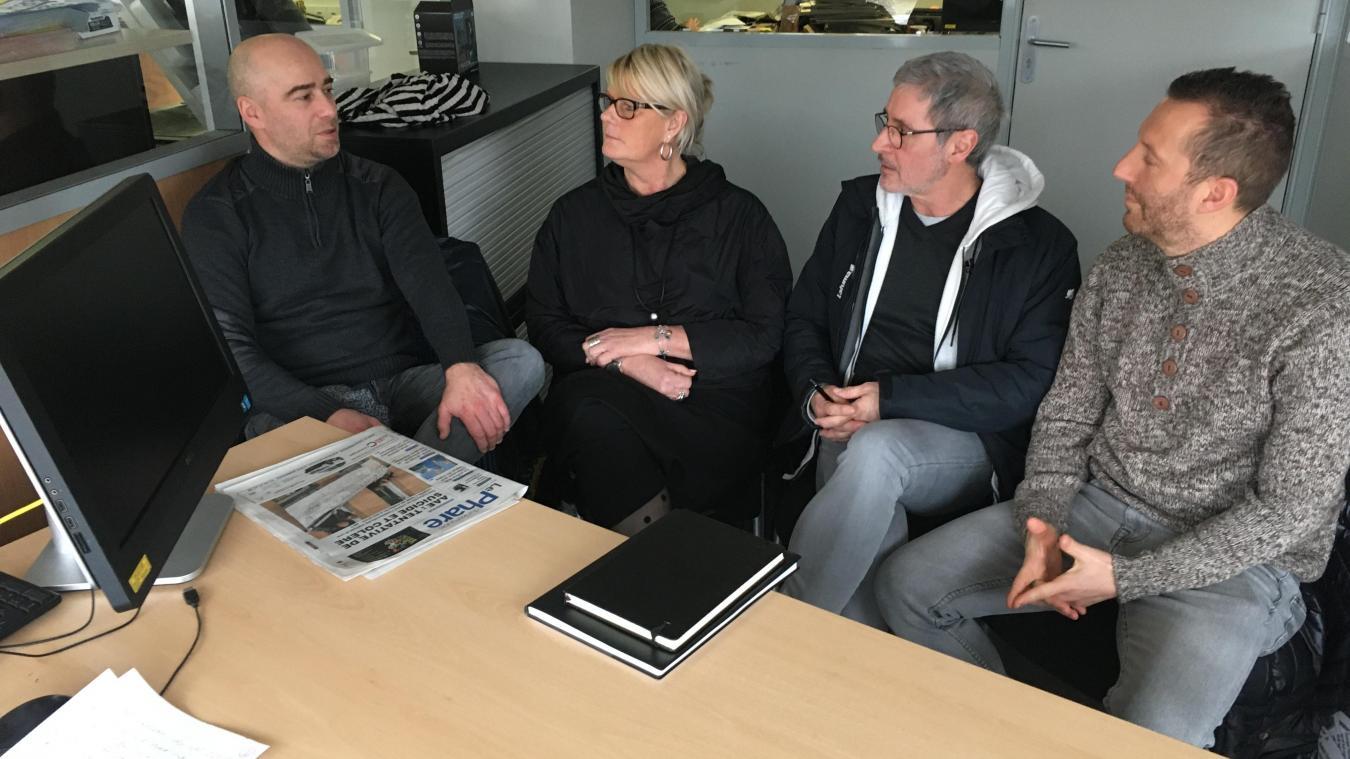 La CGT dénonce l'attitude des autres syndicats de l'AAE : « Ils réveillent le suicide de Fabrice avec leurs interventions. »