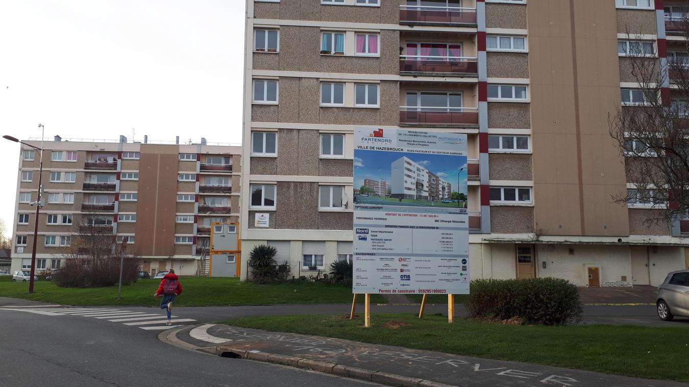 Quatre des cinq résidences du quartier seront rénovées. La cinquième, Platanes, sera détruite.