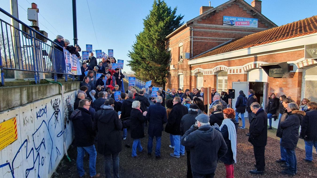Avion : plus de 200 personnes mobilisées pour sauver les dessertes SNCF