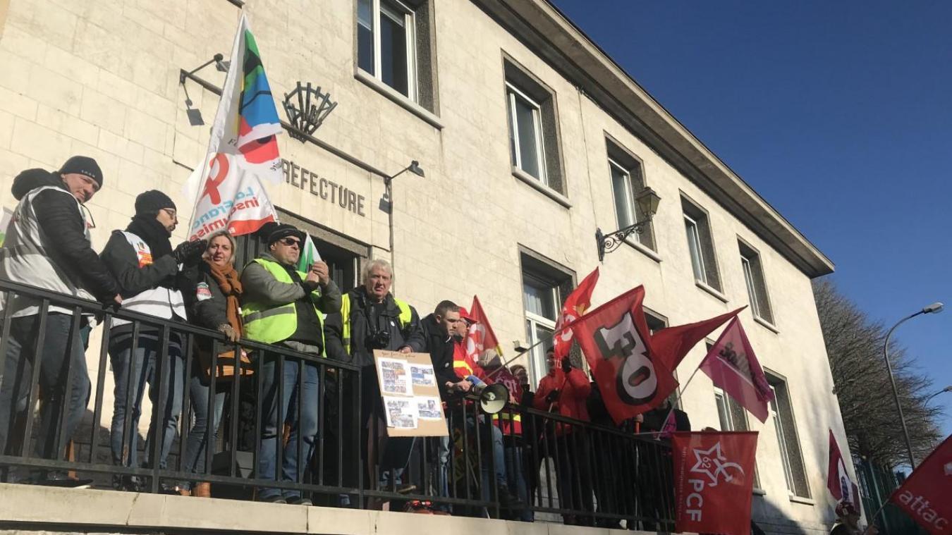 Une délégation de syndicats et Gilets jaunes a été reçue en sous-préfecture le jeudi 6 février. Le collège a souhaité interpeller le sous-préfet sur des incidents survenus avec les forces de l'ordre.