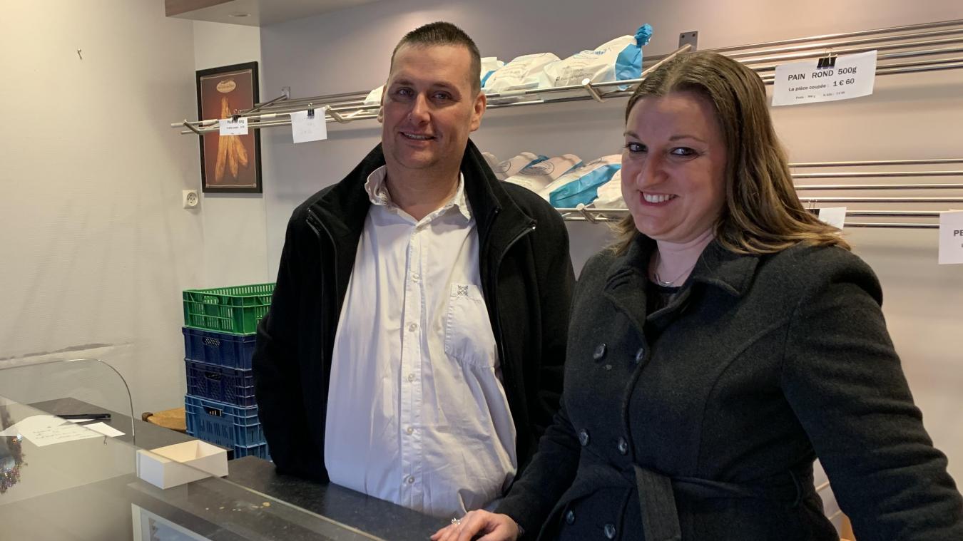 Bruno et Caroline Deyne sont ravis de pouvoir offrir leurs services aux Hondeghemois.