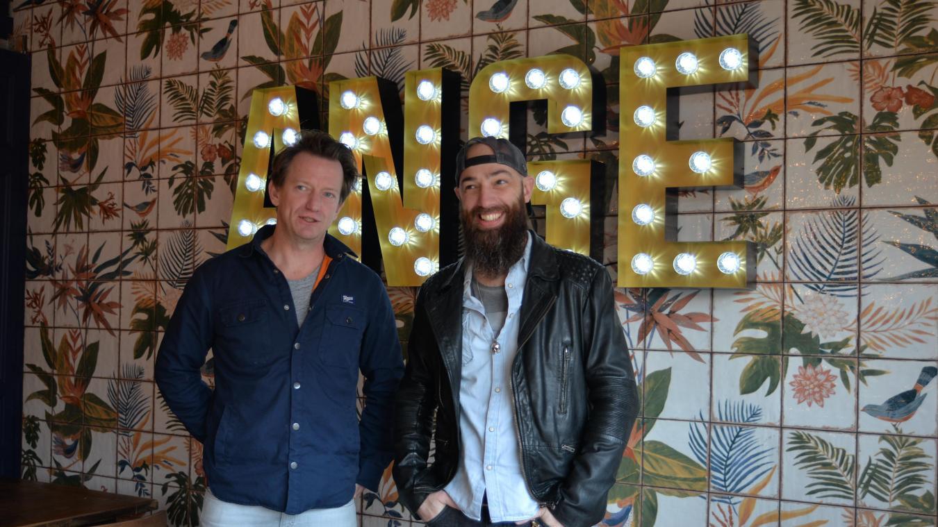 Stéphane Hubard et Antoine Chaize sont les nouveaux gérants du bar Ange.