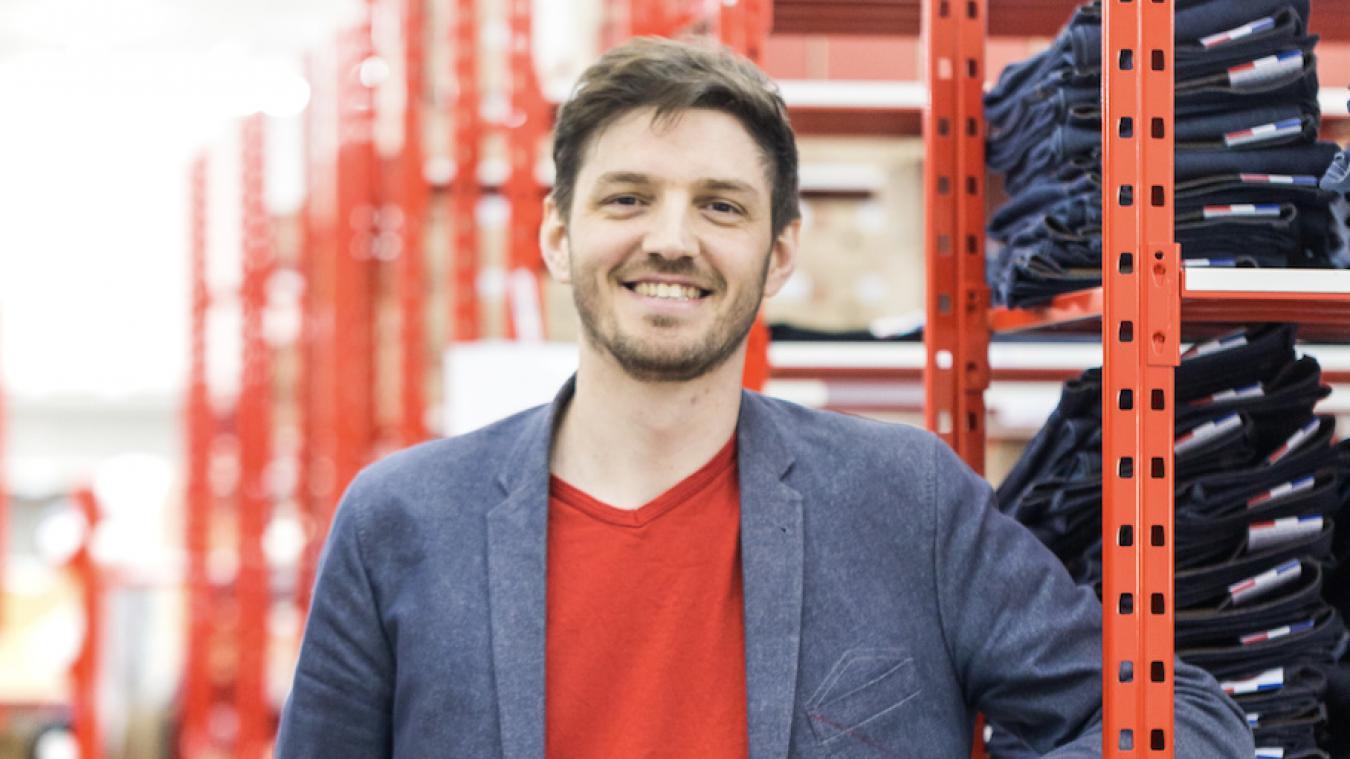 « La production des jeans devrait commencer en septembre à Calais » annonce Thomas Huriez, créateur de la marque 1083.