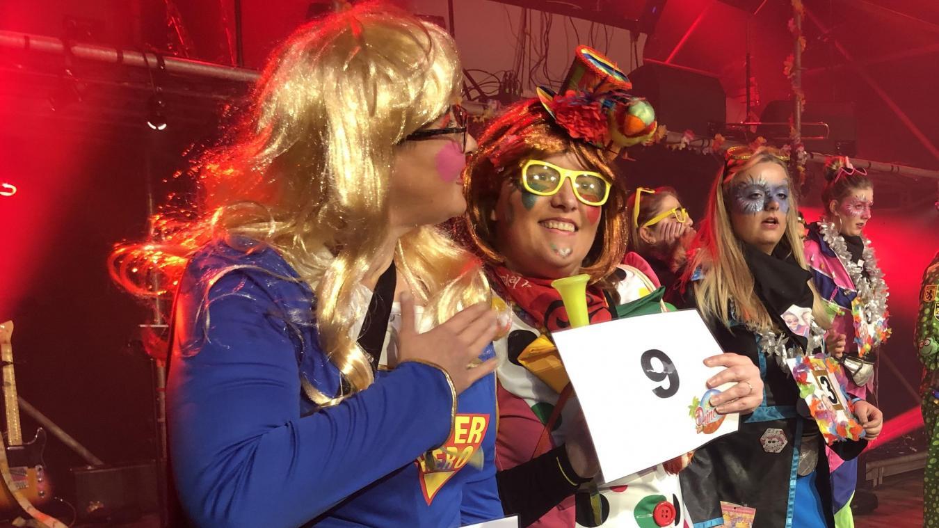 Amelie Steenkiste, candidate n°9, est la première princesse du carnaval.