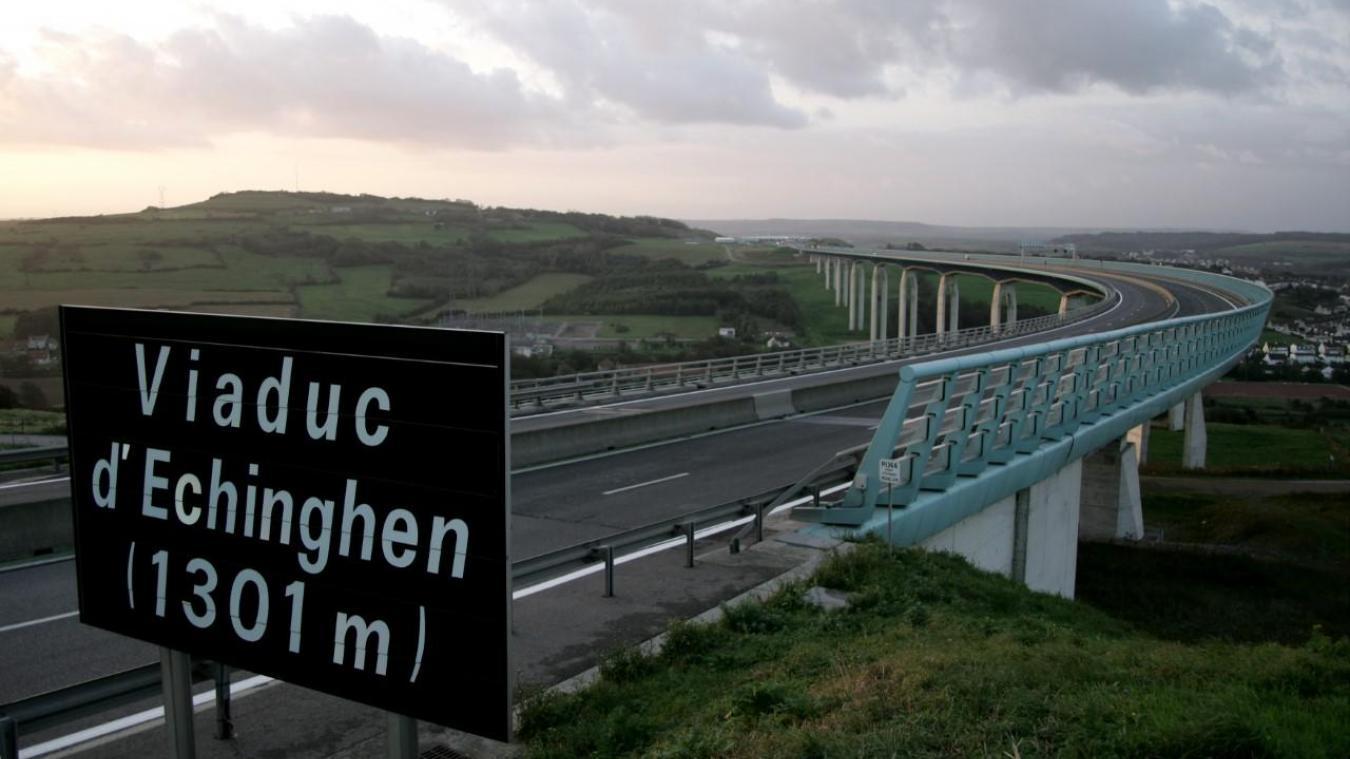 Les viaducs boulonnais interdits à la circulation de ce dimanche 9 février à 20h jusqu'à lundi matin à 4 heures