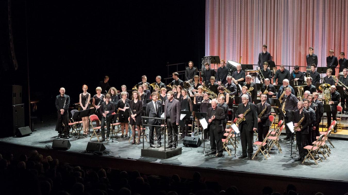 L'orchestre d'harmonie de Violaines a été créé en 1870.