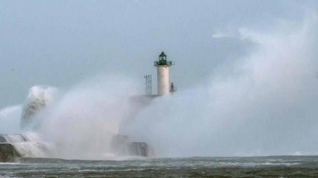 Le département du Pas-de-Calais en vigilance orange pour vagues-submersion
