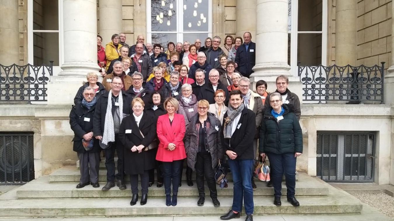 Les seniors ont été reçus par la députée Brigitte Bourguignon.