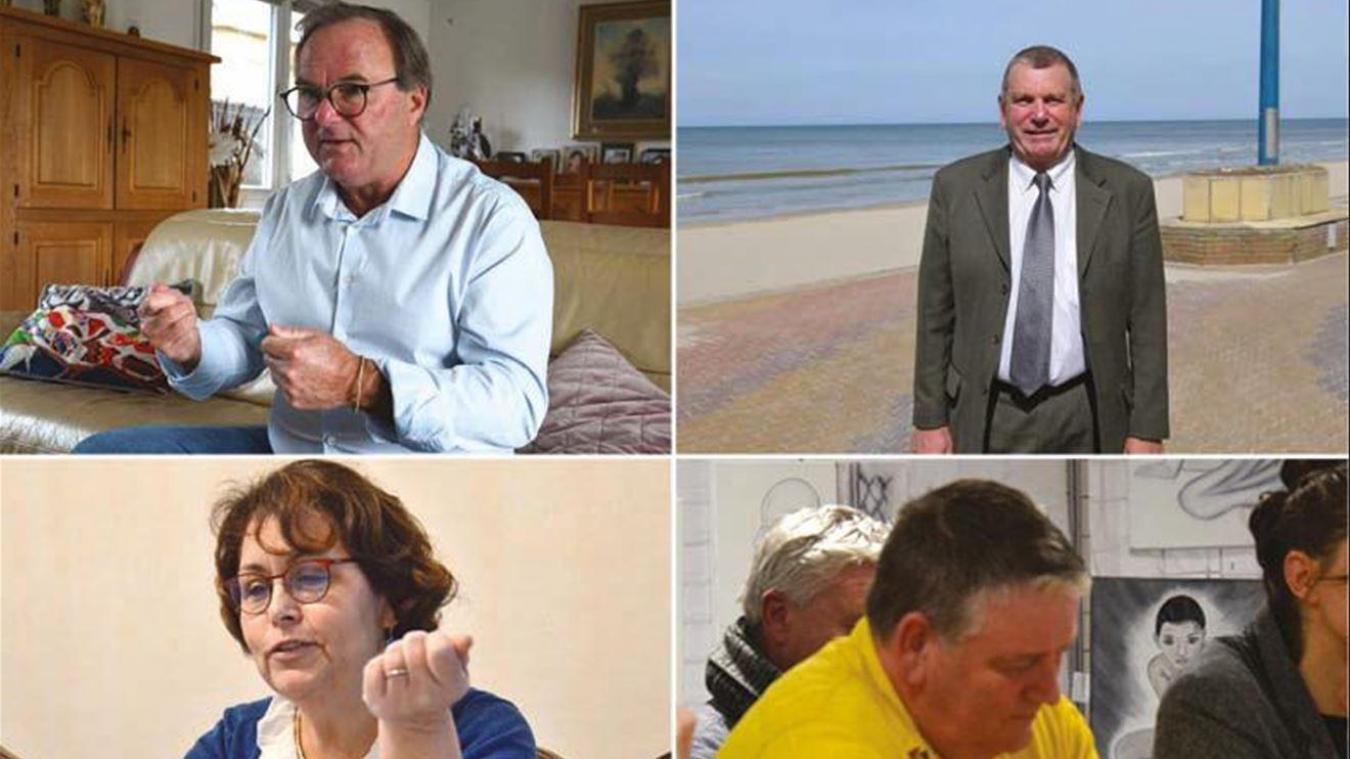 Les quatre candidats ont chacun leur propre timing dans cette course aux municipales.