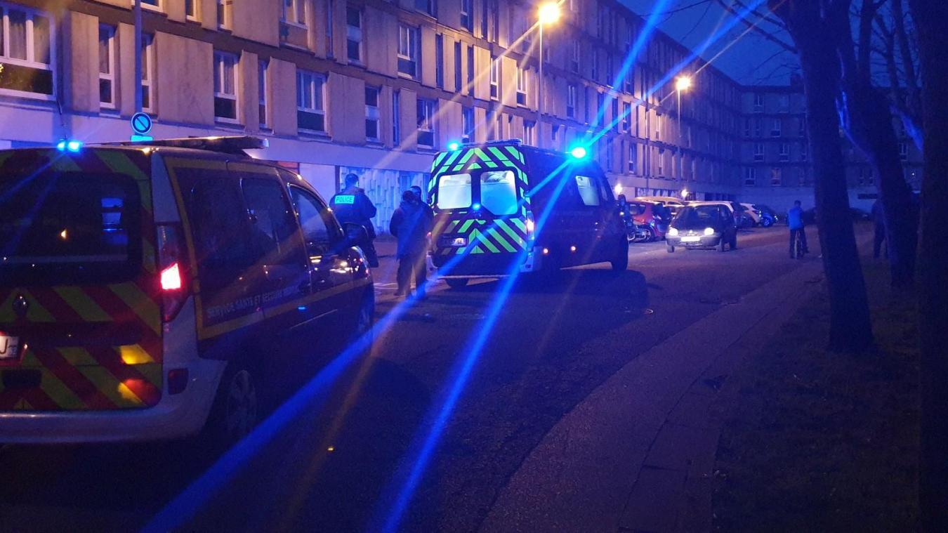 L'accident s'est produit rue du Colonel-de-l'Espérance, quartier Damrémont.