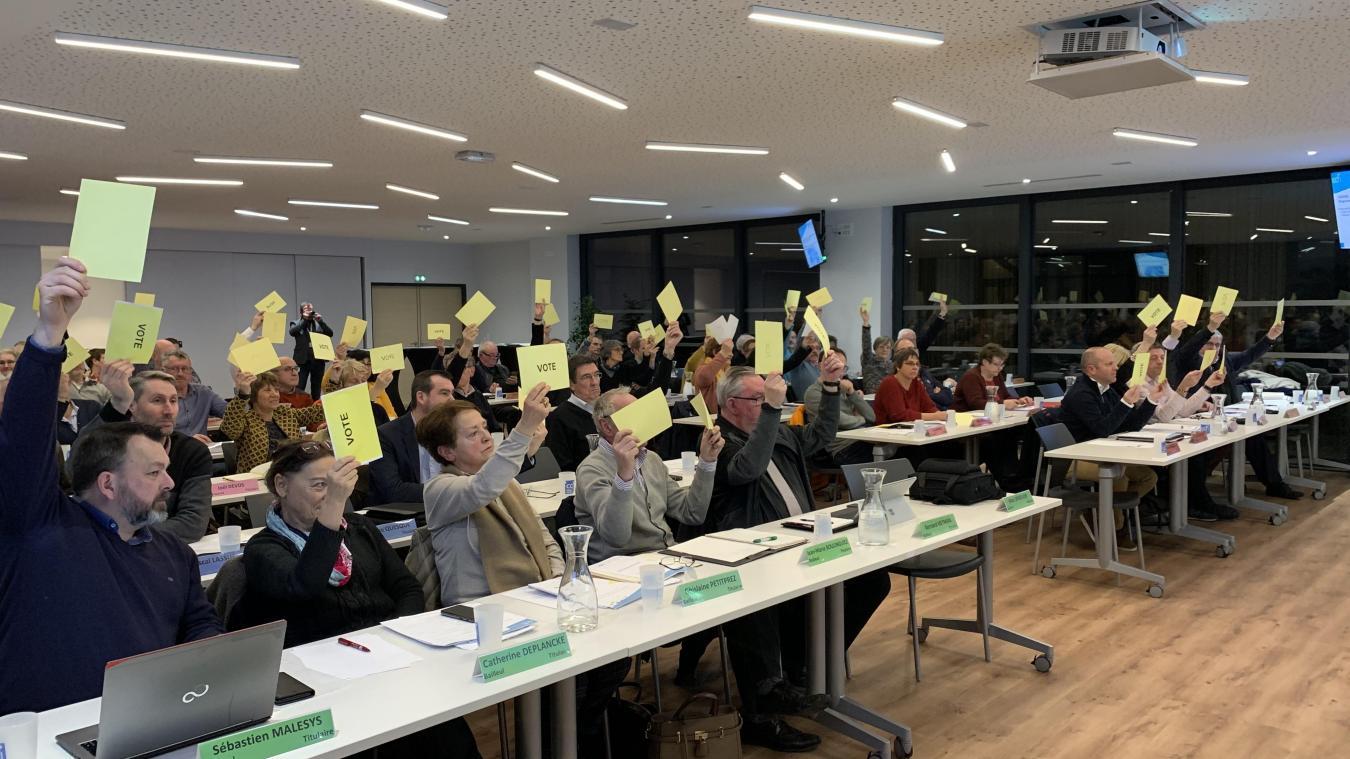 La majorité des élus communautaires a voté pour le plan d'urbanisme intercommunal construit ces six dernières années en CCFI.