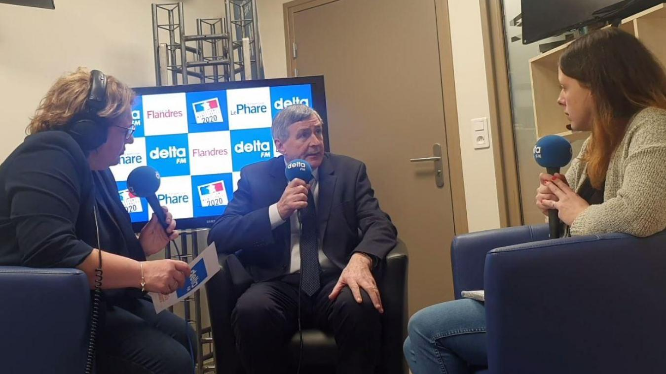 Francis Bassemon est le troisième candidat de Bourbourg à répondre aux journalistes de Delta FM et du Journal des Flandres.