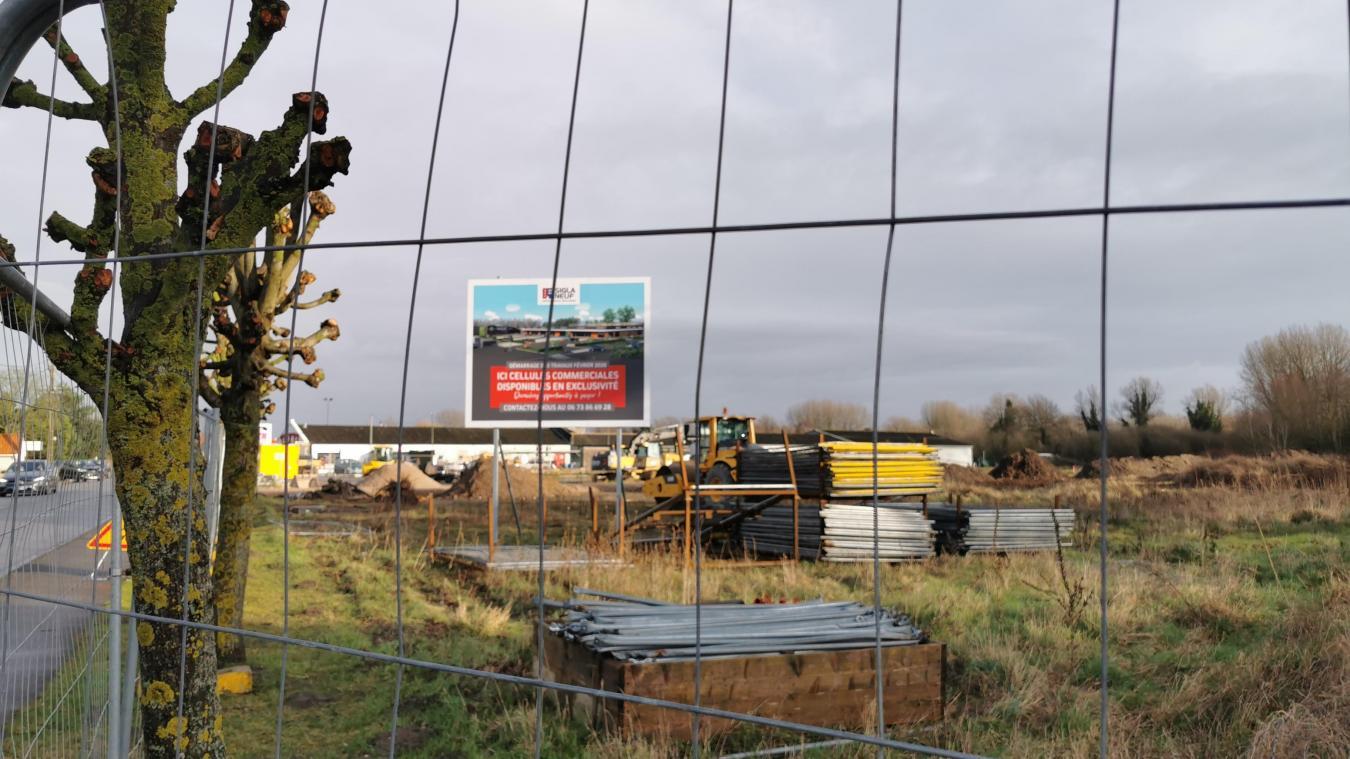 Gamm Vert à Cucq : le chantier est lancé depuis ce mercredi 12 février