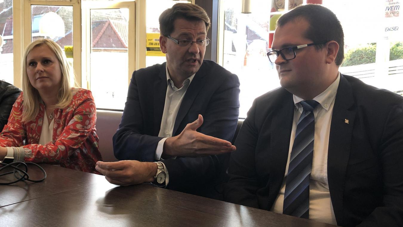En plus de Patrice Vergriete, Europe Écologie Les Verts Flandre maritime soutient les candidatures de Virginie Varlet et Grégory Bartholoméus.