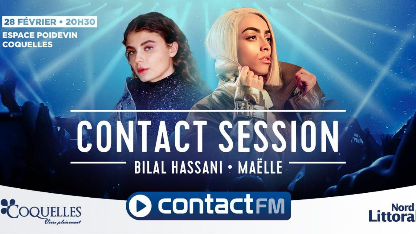 Bilal Hassani et Maëlle en concert à Coquelles avec Contact FM et Nord Littoral (vidéos)