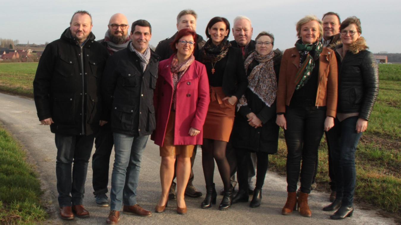 L'équipe Nos énergies et compétences pour Sercus est composée de six élus sortants.
