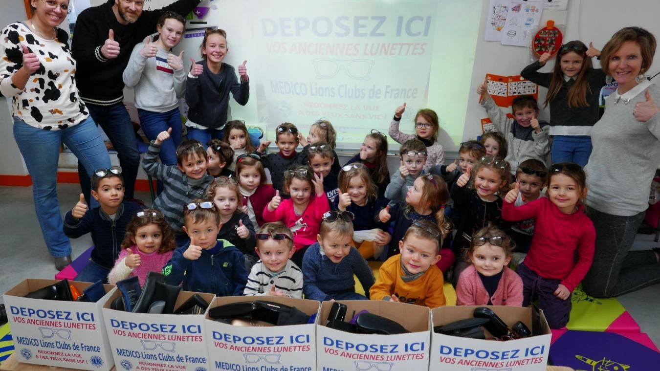 La petite école dirigée par Olivier Flipo s'active pour une cause généreuse.