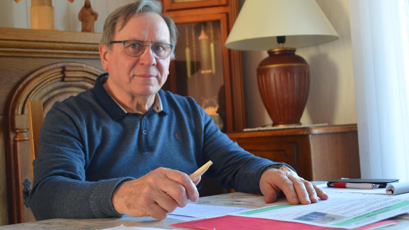 Le Wattenais, qui estime que le maire gère trop seul, entend travailler en équipe s'il est élu.