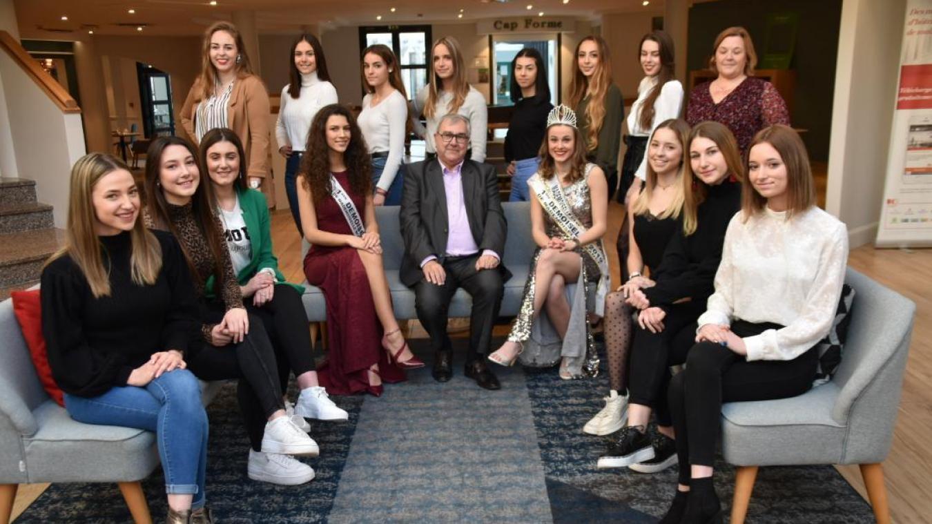 18 jeunes filles seront candidates.