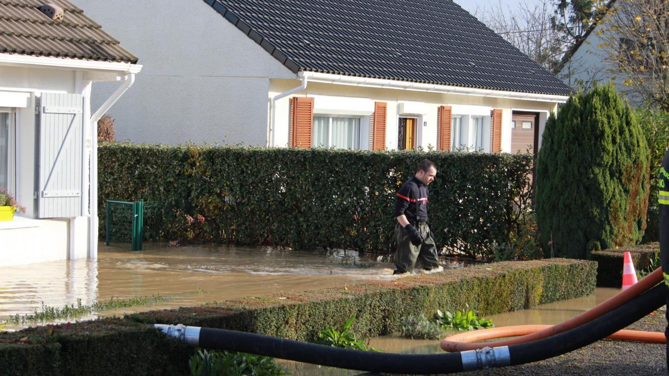 Dans la maison de Sylvie et Didier Guénantin, on a mesuré jusqu'à 20 cm d'eau lors de l'inondation de novembre 2016. C'était la cinquième fois que la maison subissait une inondation depuis sa construction.
