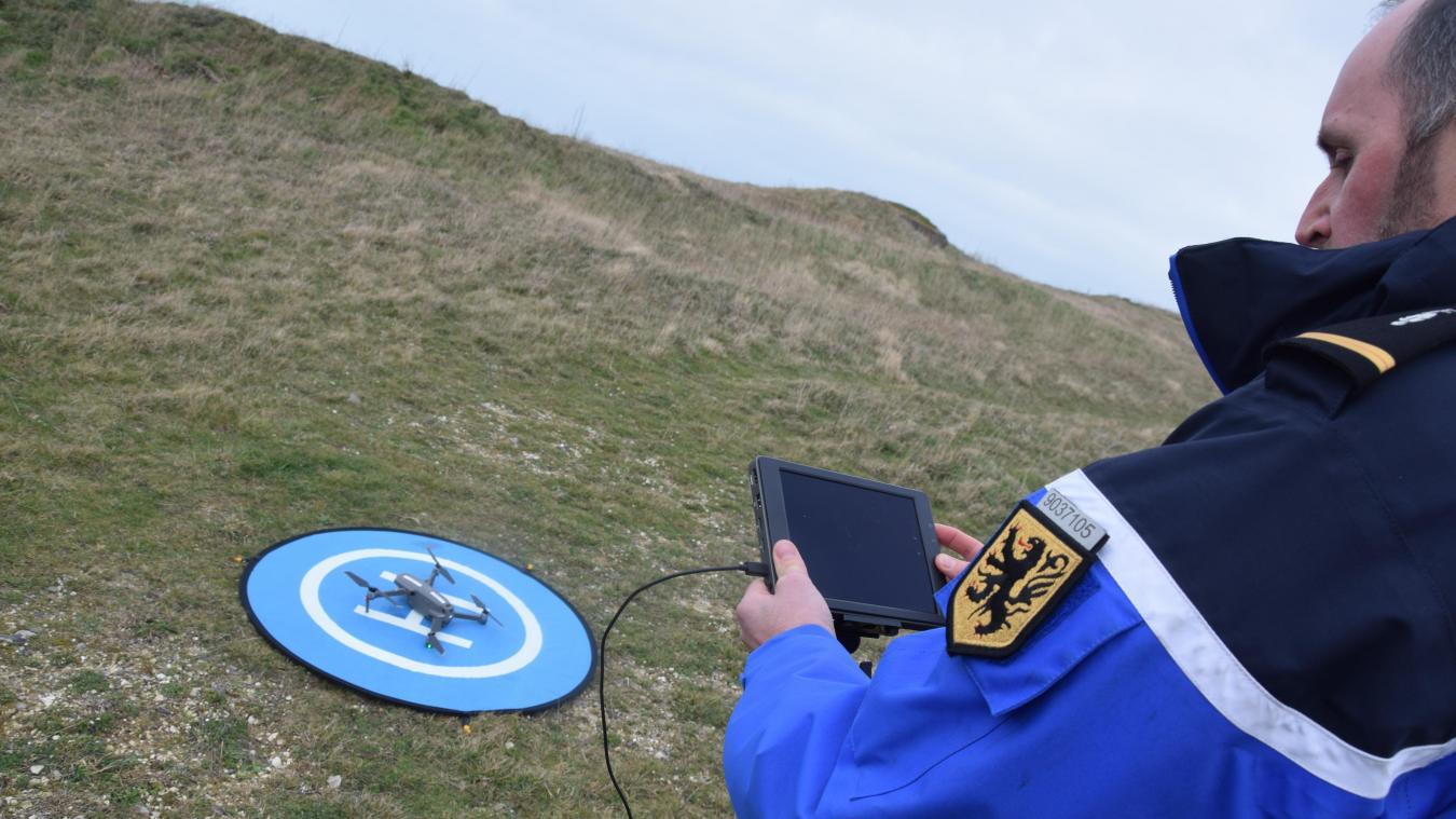 Le drone est un appui considérable pour les gendarmes dans la lutte contre l'immigration clandestine.